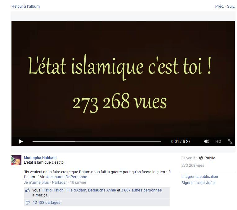 capture écran revue de presse L'état islamique c'est toi !