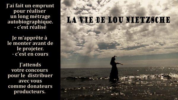 page pour le film long métrage La vie de Lou Nietzsche